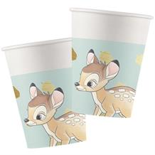 Bambi Cute Paper Party Cups 200ml