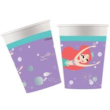 Ariel the Little Mermaid Paper Party Cups 200ml