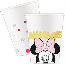 Minnie Mouse Gems Paper Party Cups 200ml