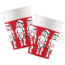 Star Wars Retro Paper Party Cups 200ml
