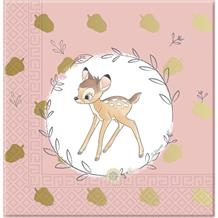 Bambi Cute 3ply Party Napkins | Serviettes