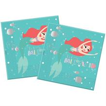 Ariel the Little Mermaid 3ply Party Napkins | Serviettes