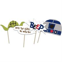 Star Wars Retro Party Photo Props
