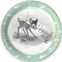 Bambi Cute 23cm Party Plates