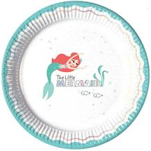 Ariel the Little Mermaid 23cm Party Plates