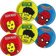 Marvel Avengers Pop Art 23cm Party Plates