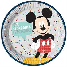 Mickey Mouse Awesome 23cm Party Plates