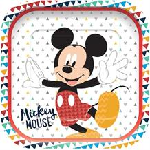 Mickey Mouse Awesome Square Platter Party Plates