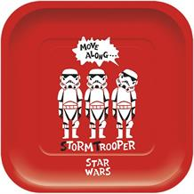Star Wars Retro Square Platter Party Plates