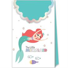 Ariel the Little Mermaid Paper Party Favour | Loot Bags