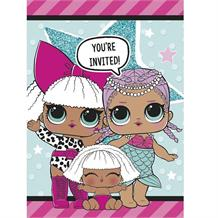 Lol Surprise Party Invitations | Invites