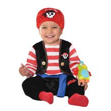 Pirate Buccaneer Baby Jumpsuit Dress Up Costume