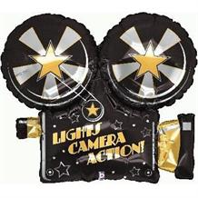 "Lights Camera Action Hollywood 32"" Foil 