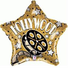 "Hollywood Movie Reel Star 19"" Foil 
