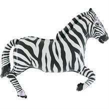 "Zebra Shaped 40"" Foil 