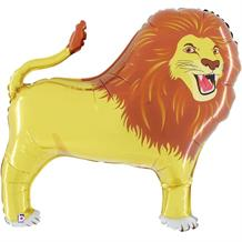 "Lion Big Cat Shaped 40"" Foil 