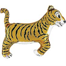 "Tiger Big Cat Shaped 40"" Foil 