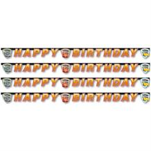 Cars 3 Happy Birthday Party Banner