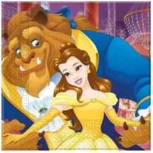 Beauty and the Beast Party Napkins | Serviettes