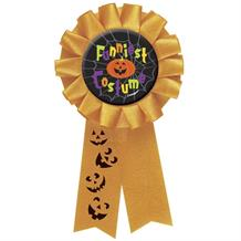 Halloween Funniest Costume Award Ribbon Favour