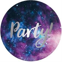 Galaxy | Space 23cm Party Plates