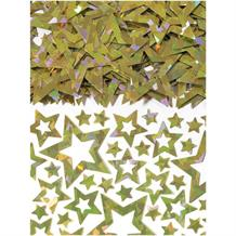 Gold Shimmer Stars Party Table Confetti | Decoration