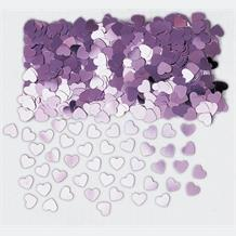 Pink Heart Sparkle Table Confetti | Decoration