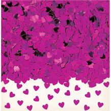 Pink Mini Love Hearts Table Confetti | Decoration