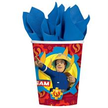 Fireman Sam Party Paper Cups