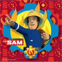 Fireman Sam 2017 33cm Party Paper Napkins | Serviettes | Tissues