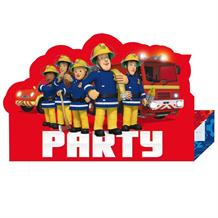 Fireman Sam 2017 Party Invitations | Invites