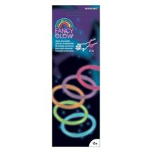 Fancy Glow Stick | Glow in the Dark Bracelets 10 Pack Assorted Colours