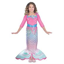 Barbie Rainbow Mermaid Girls Fancy Dress Costume
