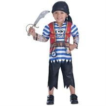 Pirate Ahoy Matey Boys Fancy Dress Up Costume