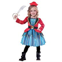 Pirate Anchor Cutie Girls Fancy Dress Up Costume