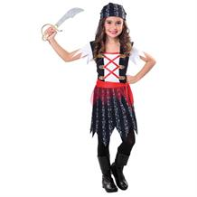 Pirate Cutie Girls Fancy Dress Up Costume