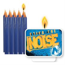 Nerf Party Cake Candles