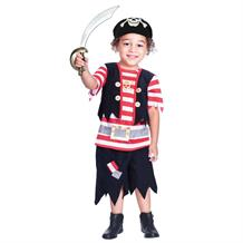 Pirate Ship Mate Boys Fancy Dress Up Costume