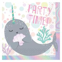 Narwhal Party Napkins | Serviettes