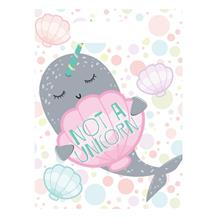 Narwhal Party Favour Loot Bags