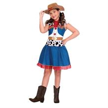 Cowgirl Cutie Girls Fancy Dress Up Costume