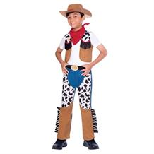 Cowboy Boys Fancy Dress Up Costume