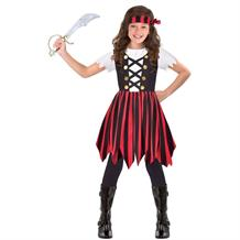Pirate Ship Mate Cutie Girls Fancy Dress Up Costume
