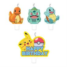 Pokemon 2019 Party Cake Candles