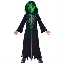 Alien Childrens and Teens Fancy Dress Up Costume