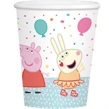 Peppa Pig Rainbow Paper Party Cups