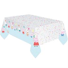 Peppa Pig Rainbow Paper Tablecover | Tablecloth