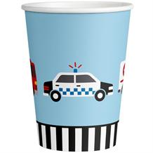 Road Vehicle Paper Party Cups