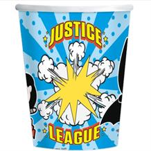 Justice League Cartoon Paper Party Cups
