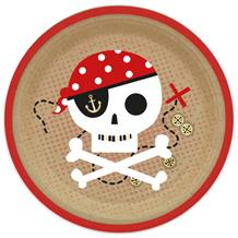 Pirate | Treasure Map Party 23cm Plates